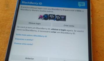 Removendo BlackBerry ID – Função antirroubo